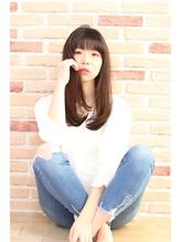美髪ストレート☆彡ロングマッシュウルフ.35
