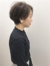 大人かわいい☆小顔ショートボブ stylist橋本.21