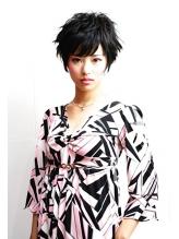 黒髪クールアップショート【RENJISHI KICHIJOJI】 ボディパーマ.45