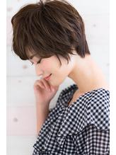 【Rire-リル銀座-】ひし形シルエット外ハネショートボブ☆.59