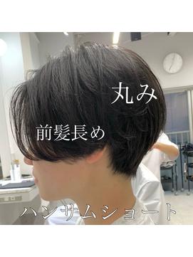 【NIKO】ハンサムショート前髪長めショート丸みショート