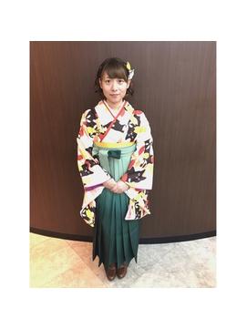 卒業式袴スタイル♪