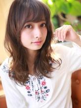 ☆ダークトーンで大人のゆるふわセミロング☆ .53