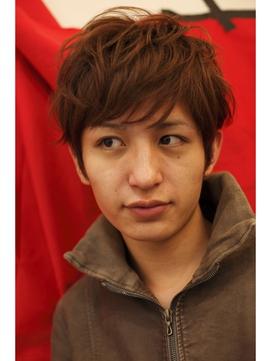 生田斗真風ショートスタイル。パーマでイメチェンしました。