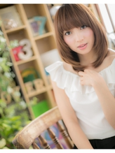 *+COVER HAIR+*…高見えレディ★のツヤ感レイヤーa パーティ.4