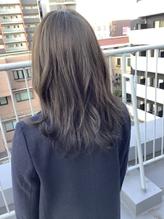 【trecolori 津田沼】オリーブグレージュ/ブリーチ無し.25