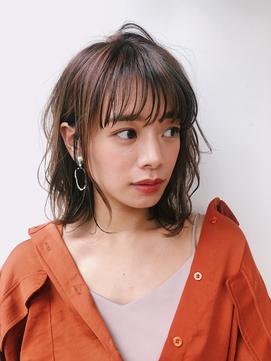 【GARDEN西川】大人可愛い小顔前髪・エアリーミディ・ボブパーマ