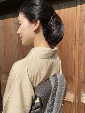 京都風はんなり和髪 ヘアセット/着付