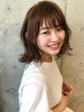 【Lano by HAIR】関亜梨佐 黒髪暗髪アッシュ小顔ミディアム.53