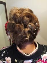 成人式ヘアセット 盛り髪.30