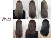 wake hair make
