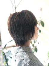ショートボブ×カーキ×大人カワイイ[Salon de Belle豊中].9