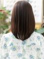 黒髪も◎大人かわいいナチュラルストレートb川口20代30代40代