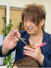 カット+TR¥6048(初回)☆独特な技法で傷ませないツヤ髪に。カットだけで分かる手触りの違いを実感して!