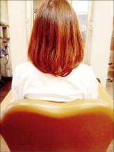 *Juliet*サニーオレンジ × ボブ 原宿系 カラー 原宿系.39