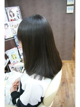 営業ビフォーアフター、チジレの強い髪に上質縮毛矯正