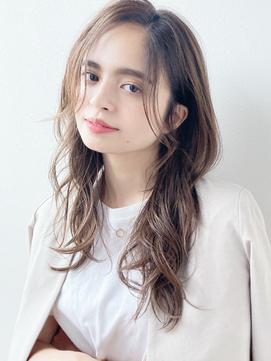 大人ナチュラルカールロング/イメチェン/梅田&茶屋町&堂島