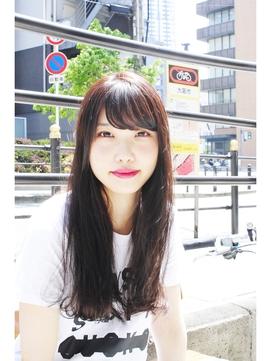 amaca♪夏☆黒髪涼しげロングスタイル