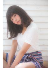 【drive for garden佐藤真希】地毛風カラー×前髪ありミディアム.47