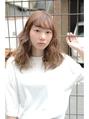 【前髪は鉄板シースルー☆】ふわっふわの横波ウェーブ