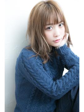 前髪カット×スウィートセミディ 【横浜】【FUNIC】