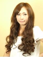 エクステ付けて巻き髪美人 縦ロール.53