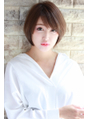☆+大宮Hip's deco+☆…大人かわいい 小顔ショートボブ