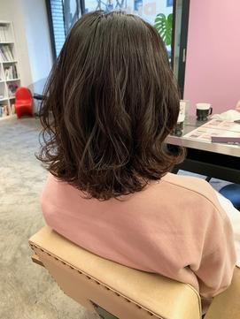 低温デジタルパーマ/デジパ/ミディアム/ナチュラル/艶髪