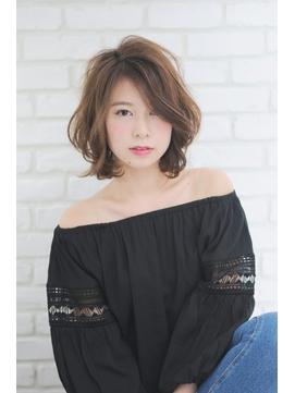 【RELEDEN/川越】小顔ミディーボブ☆ 正面写真