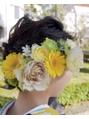【コトノハ】オリジナル生花大人かわいい 髪花2♪成人式卒業式