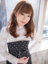 **Gem Garden**春はパーマ+ベージュで☆ほど揺れ柔らかhair まとめ髪.51