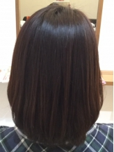 【東姫路駅すぐ★当日予約OK】人気の《トリートメントストレートパーマ》体験すると普通の縮毛には戻れない