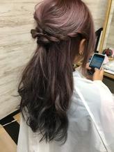 【LEA赤羽 東森】絶妙可愛いハーフアップ.17