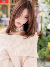 *bliss川口* センターパートが大人かわいい☆小顔ワンカールa.24