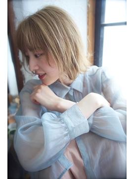 小顔くびれミディ×外ハネレイヤーボブ【西新井】