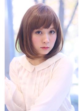 【FORTE 銀座】ストレートボブ♪サラサラ&ふわふわでモテ髪♪