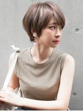 大人かわいい丸みショート 犬塚優介【neaf 六本木】 時短.1