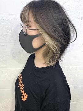 ダブルカラー/インナーカラー/ケアブリーチ/ハイライト[渋谷]