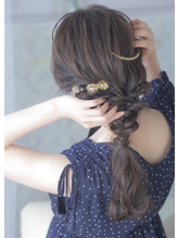 【aurouge musee柳瀬香里】可愛くて崩れにくいお呼ばれヘア◎.4