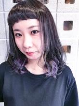 【LOARK】 パープルアッシュ☆インナーカラー.34