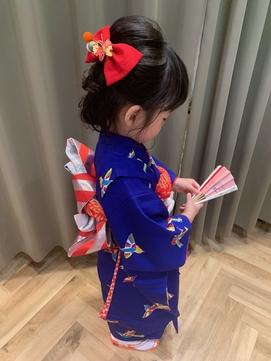 【廣田真弓】3歳の七五三スタイル♪