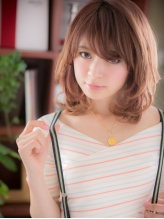 *+COVER HAIR+*…゛うるツヤ゛ウェーブで…☆ガーリーセミディ うるツヤ.57