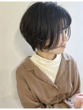 束感シースルー大人可愛い丸みショート【el CERCA高田馬場】