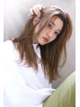 【Blanc/福岡天神】ショコラベージュ_かき上げ_大人ガーリー