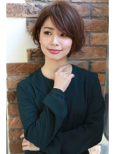 【NOA】大人ショート モーブカラー くびれミディー ワイドバング Oggi.3