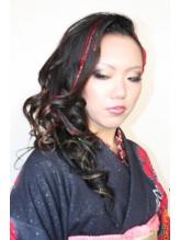 成人式仕様★セクシーセット&ショートブレイズ 盛り髪.60