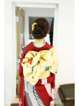 【卒業式】【謝恩会】【成人式】着付け セットはSOLhair 成人式.60