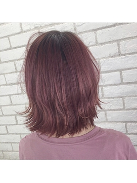 【iikanji hair】ピンクブラウンアッシュ
