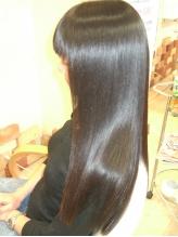 頑固なくせ毛もお任せ☆憧れのストレートだけでなく、髪の潤いやまとまりにも感動!!今までの悩みを改善♪