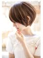 【+~ing  deux】耳掛けミニマム3Dカラー丸みショート【辻口俊】